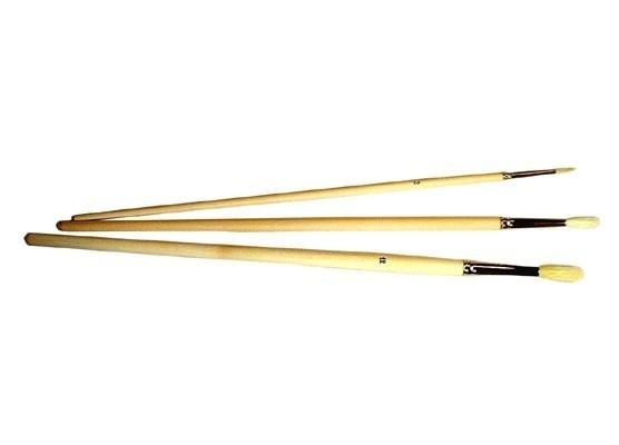 Oil pencil brush