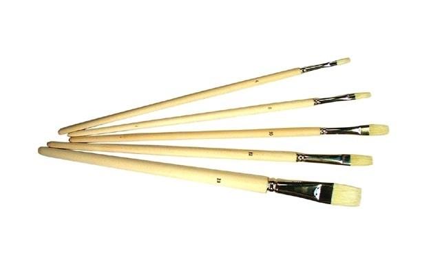 Long bristle oil pencil