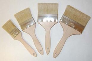 Glazing flat brush