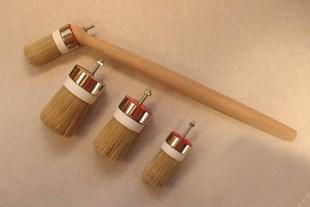 Replaceable ship´s paint brush head